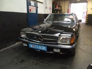 Mercedes W107 SL